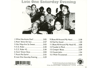 Alec Seward - Late One Saturday Evening  - (CD)