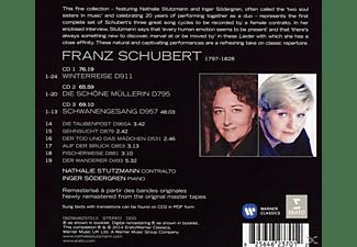 STUTZMANN,NATHALIE & SÖDERGREN,INGER - Schöne Müllerin/Winterreise/Schwanengesang  - (CD)