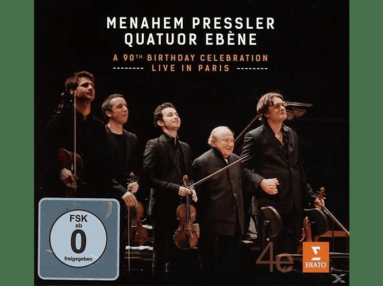 Menahem Pressler, Quatuor Ébène - Dvor:Live In Paris [CD + DVD Video]