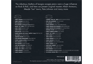 VARIOUS - ANTHOLOGY OF BOOGIE WOOGIE PIA  - (CD)