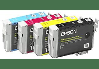 Cartucho de tinta - Epson C13T07154020 Negro Amarillo Cian Magenta