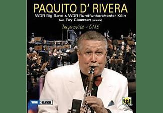 Paquito d'Rivera - Improvise-One-Live  - (CD)