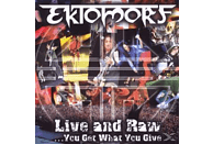 Ektomorf - Live And Raw-You Get What You Give [DVD]