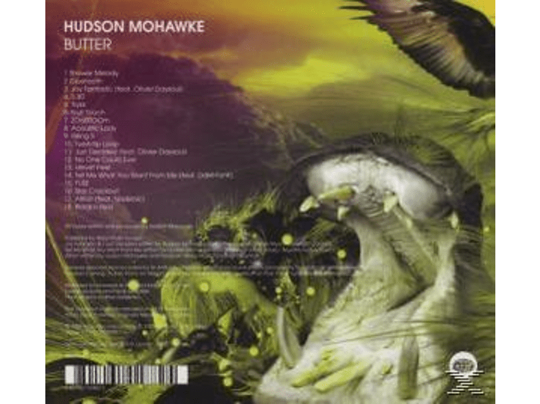 Hudson Mohawke - Butter [CD]