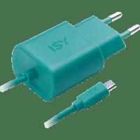 ISY IWC-3000 Micro-USB Ladegerät, Grün