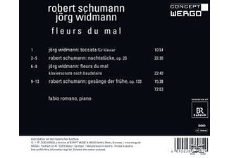 Fabio Romano - Widmann: Toccata Für Klavier/ Fleurs Du Mal / Schumann: Nach  - (CD)