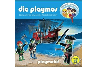 - Die Playmos 22: Gespenstig gruselige Geisterpiraten  - (CD)