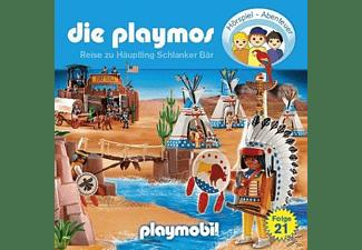 - Die Playmos 21: Reise Zu Häuptling Schlanker Bär  - (CD)