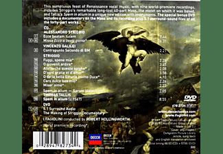 Robert Hollingworth, I Fagiolini - Striggio: 40 Part Mass  - (CD + DVD Video)