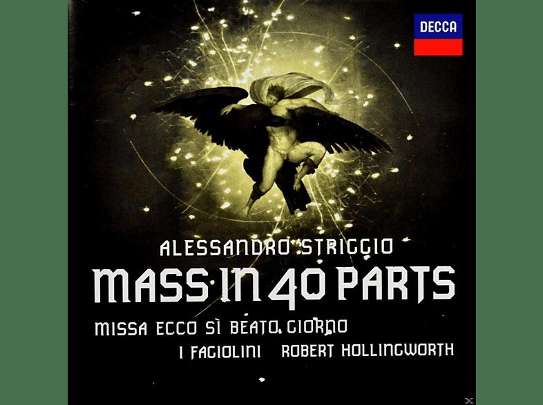 Robert Hollingworth, I Fagiolini - Striggio: 40 Part Mass [CD + DVD Video]