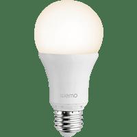 BELKIN WeMo Smart E27 LED-Lampe, Weiß