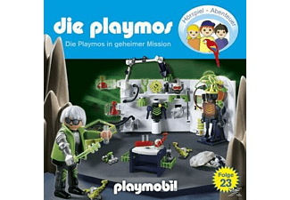 - Die Playmos 23: ...in geheimer Mission  - (CD)