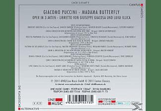 Orchester Der Metropolitan Opera, Orchestra Del Tea - Madama Butterfly-Mp 3 Oper  - (MP3-CD)