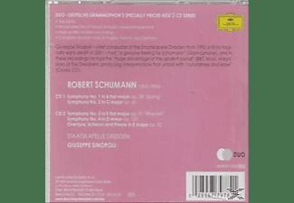 Giuseppe Sinopoli, Giuseppe/sd Sinopoli - Sinfonien 1-4  - (CD)