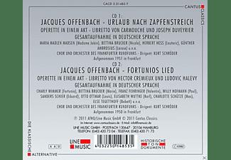 Maria Madlen Madsen, Charly Wimmer, Bettina Brucker, Herbert Hess, Günther Ambrosius, Chor & Orchester des Frankfurter Rundfunks, Hofmann Willy - Urlaub Nach Zapfenstreich / Fortunios Lied  - (CD)
