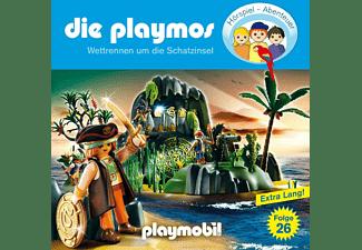 - Die Playmos 26: Wettrennen um die Schatzinsel  - (CD)