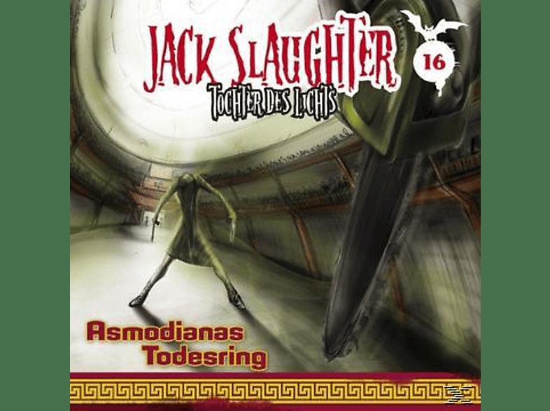 Jack Slaughter 16: Asmodianas Todesring - (CD)