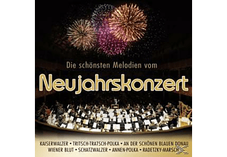 VARIOUS - Die schönsten Melodien vom Neujahrskonzert  - (CD)