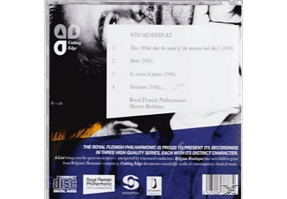 Martyn Brabbins, Royal Flemish Philharmonic - Tejas / Srkiet / Le Visioni Di Paura / Variationen  - (CD)