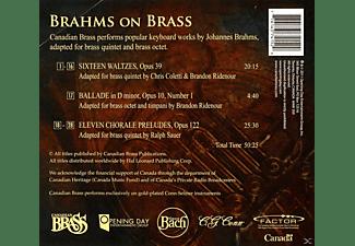 The Canadian Brass - Brahms On Brass  - (CD)