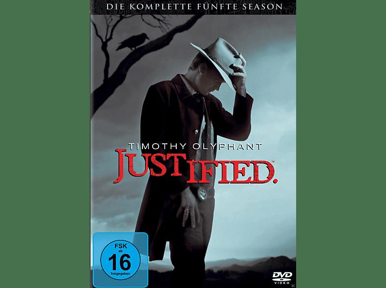 Justified - Staffel 5 [DVD]