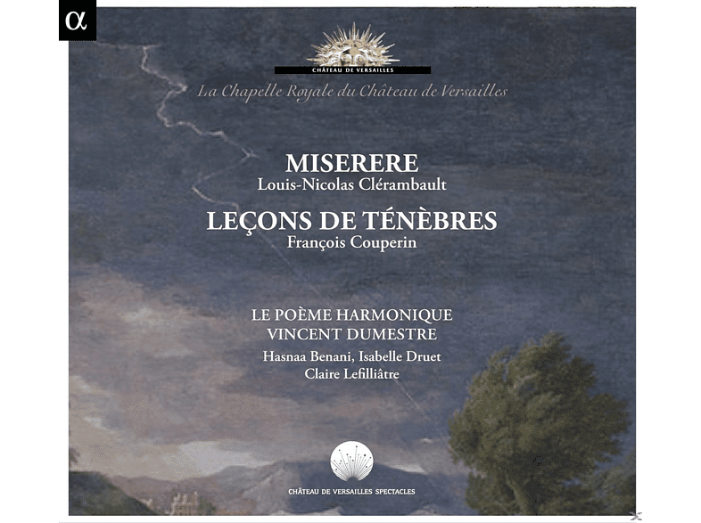 Hasnaa Bennani, Isabelle Druet, Claire Lefilliatre, Le Poeme Harmonique - Lecons de Tenebres / Miserere [CD]