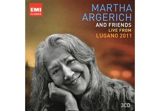 Martha Argerich - Argerich & Friends Live From Lugano 2011 - (CD)