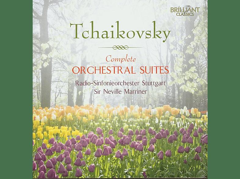 Sir Neville Marriner, Radio-Sinfonieorchester Stuttgart - Complete Orchestral Suites [CD]