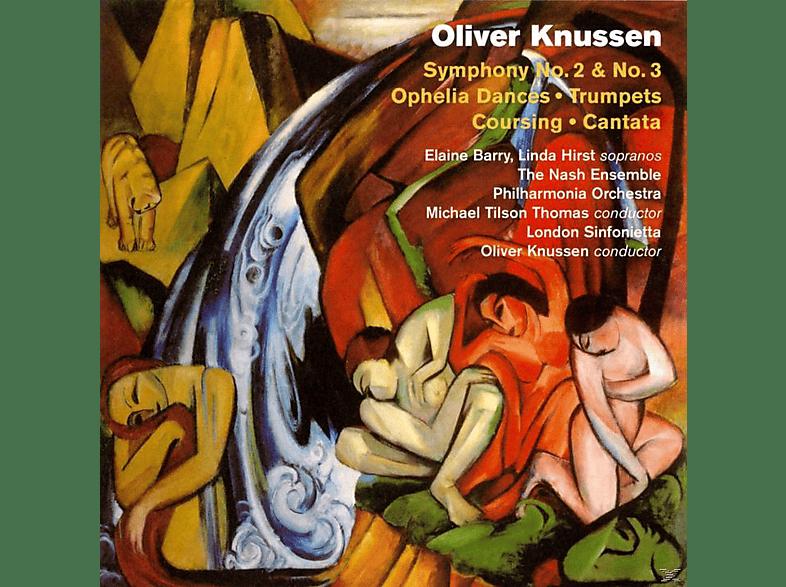 VARIOUS - Symphony No. 2 & No. 3/ Ophelia Dances / Trumpets / Coursing / Cantata [CD]