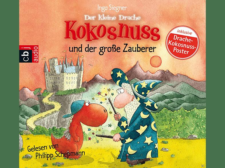 Der kleine Drache Kokosnuss und der große Zauberer - (CD)