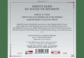 Münchner Rundfunkorchester, Chor Des Bayerischen Rundfunks, Erika Köth, Richard Holm, Brigitte Mira, Klaus Havenstein, Werner Schmidt-boelcke, Hofmann Willy - Das Veilchen Von Montmartre  - (CD)