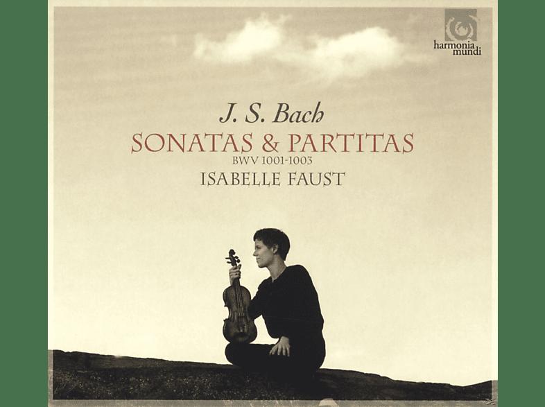 Isabelle Faust - Violinsonaten & Partiten BWV 1001-3 [CD]