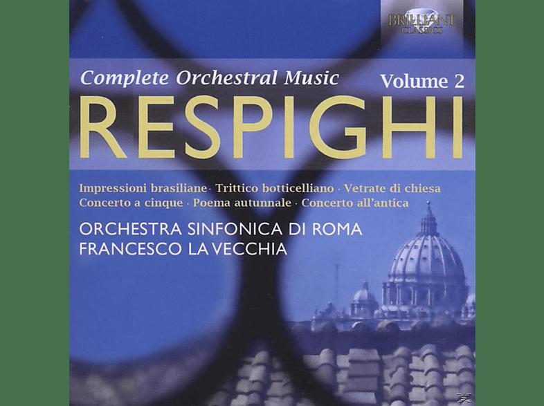 Francesco La Vecchia, Orchestra Sinfonica Di Roma - Complete Orchestral Music Vol. 2 [CD]