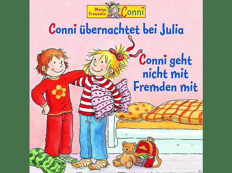 Conni - Conni 37: Conni übernachtet bei Julia / Conni geht nicht mit Fremden mit - (CD)