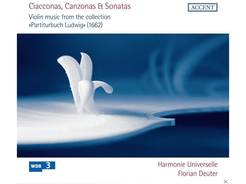 "Harmonie Universelle, Deuter Florian - Violinmusik Aus Dem ""Partiturbuch Ludwig"" [CD]"