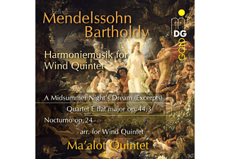 Ma Alot Quintett - Harmoniemusik For Wind Quintet  - (CD)