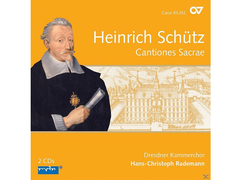 Dresdner Kammerchor, Hans-Christoph Rademann - Cantiones Sacrae [CD]