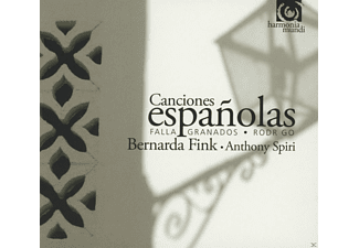 Bernada Fink, Anthony Spiri - Canciones espanolas - (CD)