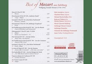 Arsentjeva/Pistor/Kofler/Vlatkovic/Czifra - Best of Mozart aus Salzburg  - (CD)
