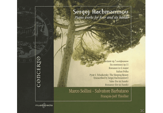 Marco Sollini, Salvatore Barbatano - Piano Works For Four And Six Hands - (CD)