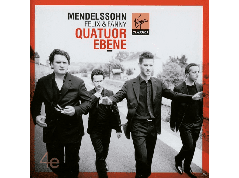 Quatuor Ébène - Felix And Fanny [CD]