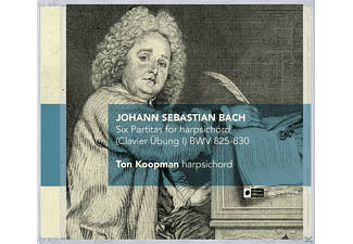 Ton Koopman - Six Partitas For Harpsichord (Clavier Übung I) - (CD)