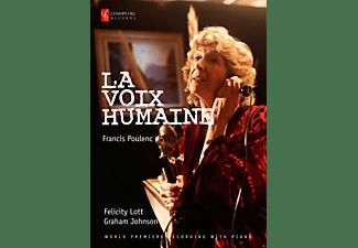 Felicity Lott, Graham Johnson - La Voix Humaine  - (DVD)