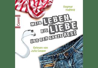 Conni (Jugendroman) - Conni 01: Mein Leben, die Liebe und der ganze Rest  - (CD)