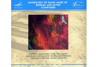 Nikita Mndoyants, Tetyana Dorokhova, Irina Bogdanova, Asiya Korepanova, Mikhail Turpanov - Anthology Of Piano Music By Russian And Soviet Composers - (CD)