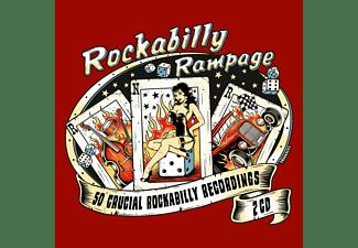 VARIOUS - Rockabilly Rampage  - (CD)