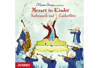 Marko Simsa - Mozart für Kinder - Nachtmusik und Zauberflöte  - (CD)