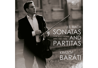 Kristof Barati - J.S. Bach: Sonatas & Partitas For Solo Violin CD