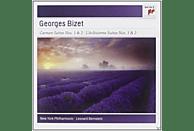 Julius Baker, David Nadien, William Vacchiano, New York Philarmonic - Carmen Suites Nos.1 & 2 - L'arlésienne Suites Nos. 1 & 2 [CD]