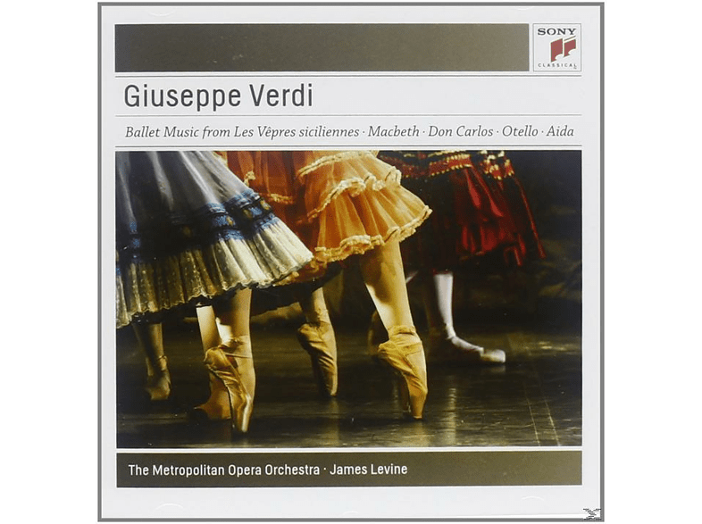 James Levine, Metropolitan Opera Orchestra - Ballet Music From The Operas [CD]